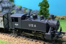 LOCOMOTIVES / Voici nos #locomotives ! #PIKO, #ROCO et #REE