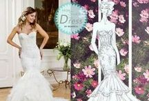 From Sketch to Dress by Modeca