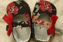 Slippers and baby shoes