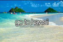 Go to Hawaii ✈ / Parce que je rêve d'y aller...