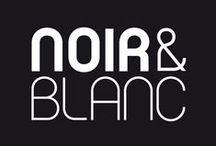 ◩ Noir & Blanc ◪ / Objets, déco, mode, animaux....noir et blanc