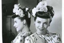 Boucles et bigoudis / vintage hairstyle