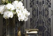 Prettily Papered / Wallpaper!