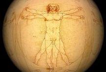 Léonard de Vinci / Léonard de Vinci, né à Vinci le 15 avril 1452 et mort à Amboise le 2 mai 1519, est un peintre florentin et un homme d'esprit universel, à la fois artiste, scientifique, ingénieur, inventeur, anatomiste, peintre, sculpteur, architecte, urbaniste, botaniste, musicien, poète, philosophe et écrivain.
