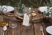 Table Decoration / Table decoration ideas to help with your vision.