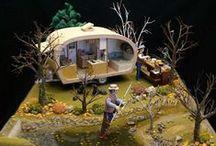 Dioramas / miniature box, tins, night light, books all depicting art! / by Mary Ellen McGrath