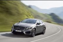 Mercedes-Benz GLA / The all-new GLA. Find out more about this stunner at http://www.mercedes-benz.co.za/gla