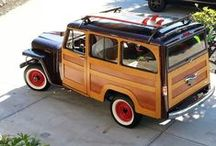 Inspiring Cars / Willys station wagon from I Am a Legend BOOK & other cars from my dreams <3 P.S. Tesla owns a special board))