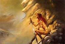 Art favs: Boris Vallejo / yes I love him (and not F.F.)
