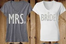 Bride & Entourage Outfit Inspiration / Outfit Inspiration for the Bride and her Bridesmaids! Bachelorette party, Honeymoon, Picking the dress with Glitter is Best...