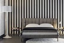 B&B Italia 'Beds' / B&B Italia SpA is an Italian modern furniture company whose products are sold worldwide. The company was founded in 1966 by the Busnelli family, who manages the company.
