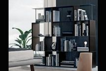 Jesse 'Bookcases' / Compositions, shapes and different geometries: Jesse bookshelves provide a variety of styles and architectural solutions to give character to your interiors.