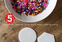 Hama beads / Strijkkralen