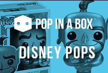 Disney Funko POP! / If you love Disney you will love the POP! Disney range from Funko, it is one one of the biggest collections that Funko POP! produce and covers much loved characters from classic disney films such as snow white to newer modern classics like frozen. check them all out at popinabox.co.uk