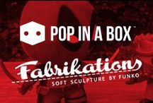 Fabrikations / funko fabrikations, awesome soft sculpture plushes featuring well known characters from star wars, dc comics, marvel and disney!