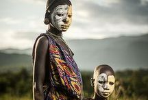 people of the Omo Valley, Ethiopia / Small tribes in Ethiopia (Africa), in the 'Omo Valley'. For example; Sumra, Suri, Bashada and Hamar tribes