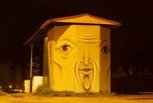 World of Urban Art : NIKITA NOMERZ  [Russia] / '' The Living Wall ''