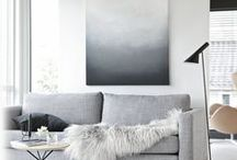 Scandinavian / White, Grey and Black