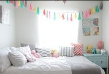 girls rooms / by Roseanne A