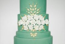 Wedding Cakes + Treats / Wedding cake, cupcakes, candy bars and more!