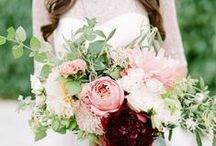 Flower Power - Wedding Flower Ideas / Fabulous wedding flower bouquet, boutineer and centerpiece ideas!