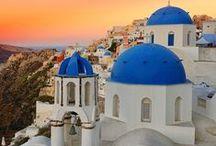 Greece  ღ¨*♥♥♥  / by Ririko Dee