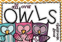 School - owl themed classroom / by Judy R