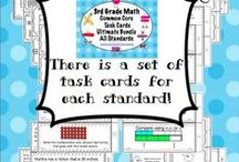 Math -task cards/ assessments / by Cynthia Stanfield