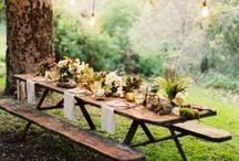 Outdoor Decor  / picnic in the garden, anyone?