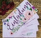 Hochzeitspapeterie / Die richtige Wahl des Designs für die Hochzeitspapeterie erweist sich oftmals als schwierig. Ob Einladungskarten, Menükarten, Tischkarten oder Danksagungskarten, wir sammeln für Euch die schönsten Ideen und hoffen wir können Euch damit inspirieren!
