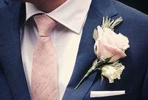 Hochzeitsanzüge und Accessoires für den Bräutigam / Nicht nur die Braut möchte an Ihrem Hochzeitstag wunderschön aussehen, sondern auch der Bräutigam macht sich mit einem schicken Anzug, feinen Schuhen und den passenden Accessories zurecht. Hier findet Ihr genügend Inspirationen.