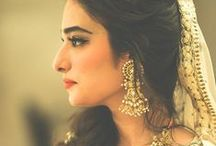 Traditional Trends / Pakistani and Indian wedding attires. including dresses, accessories, wedding stage and the other details.