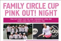 2014 FCC E-Blasts / Want to be up to date on the latest happenings from the Family Circle Cup in Charleston, SC? Subscribe to this board and receive the newest E-Blast updates.  / by Family Circle Cup
