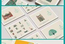 GRAPHIC DESIGN INSPIRATION / Progetti grafici coordinati