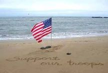 Support Our Troops & RED Friday / Supporting & RED (Remember Everyone Deployed) / by De Sledge