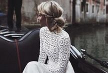 the dress ~ / Bohemian, effortless, french modern and classic bridal gowns that inspire us.