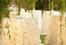 Specialty Linens / Every Season is Wedding Season! Here's some inspiration for tablescapes