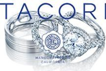 Tacori / All Tacori pieces are handcrafted by the Tacori Artisans in California. Tacori is well-known for their stunning bridal collection and fashion jewelry.