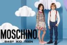 MOSCHINO KIDS SS16 / This exquisite label is famous for vibrant colours, distinctive designs and imaginative styles.