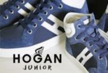 HOGAN JUNIOR SS16 / The Hogan Junior collection offers comfortable, fashionable footwear, suitable for younger children.