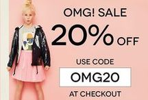 OMG! 20% SALE / .......Limited Time Only...........  More items on our website: www.childsplayclothing.co.uk
