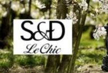 LE CHIC BY S&D SS16 / The full collection is modern and contemporary with touches that have a classic and vintage influence.