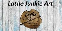 Lathe Junkie Art / Wands, Bowls and other hand turned wood items from The Lathe Junkie.