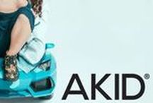 AKID SS16 / This collection holds an array of high tops, sandals and slip on shoes in amazing soft durable fabrics, which are stylish yet little ones can put them on unaided,
