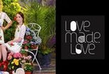 """LOVE MADE LOVE SS16 / The brand has been built on an array of fashion principles and aesthetics including beautiful style, effortless chic and of course as the brand's name would suggest """"love""""."""