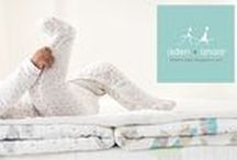 ADEN & ANAIS AW16 / This brands creates comfort and its suitable for swaddling to cozy baby blankets and babygrows.