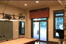 Cornices / Custom window treatments, top treatments, cornices, valances, home décor, interior design