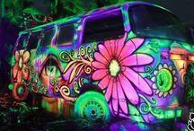 Bright and vibrant / Pretty colors!