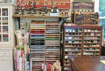 Le parfait atelier / perfect craftroom