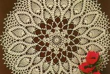 Crochet Tablecloths & Doilies / by Marcela Asenjo